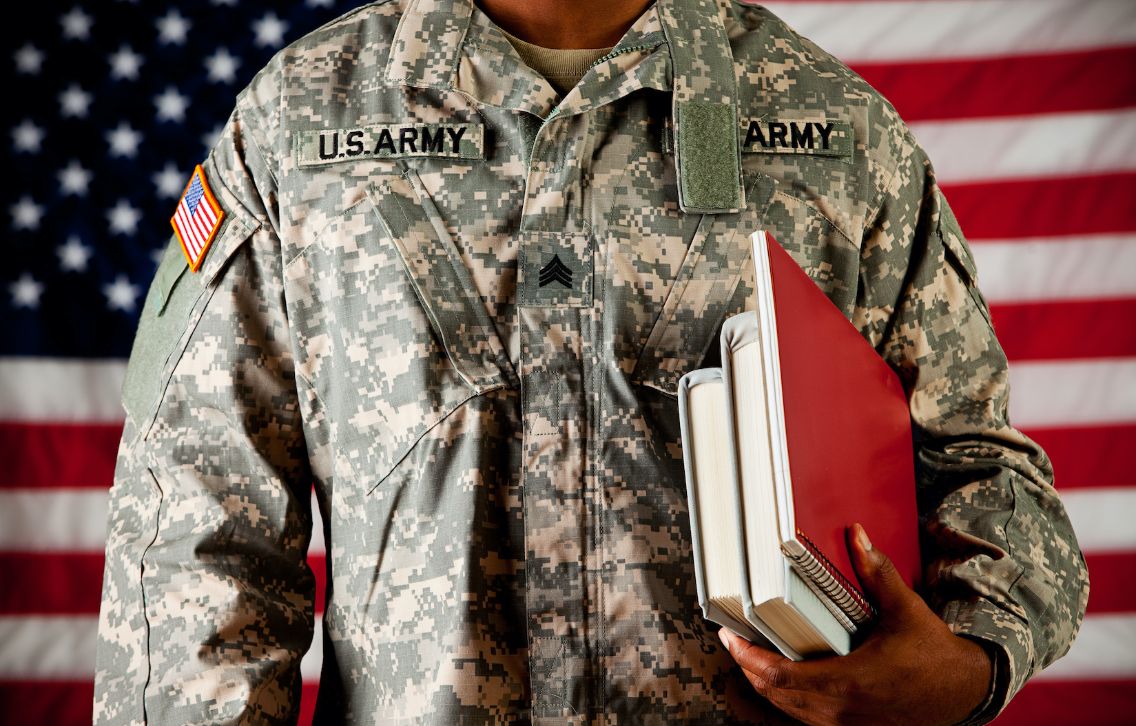 Soldiering On: Godly Principles Armor Young Man with Resilience